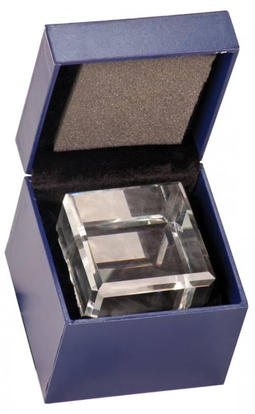 Crystal Cube Gift Box
