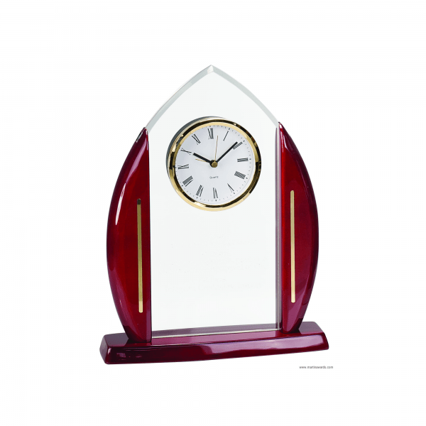 Cathedral Acrylics with Clock