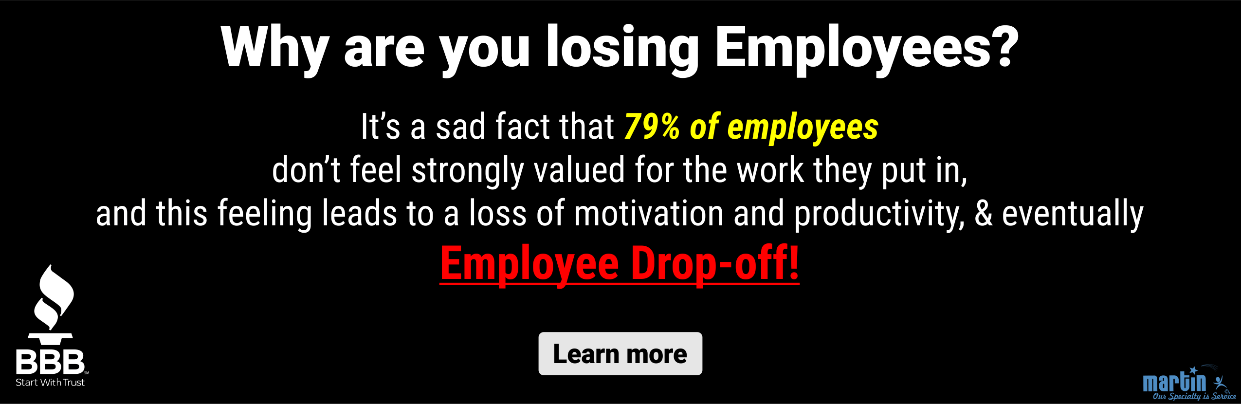 Losing employees