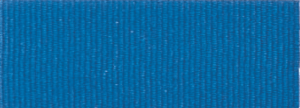 "7/8"" Blue Neck Ribbon with Snap Clip"