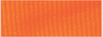 "7/8"" Neon Orange Neck Ribbon with Snap Clip"