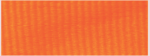 "1 1/2"" Neon Orange Neck Ribbon with Snap Clip"