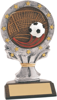 "6 1/4"" Soccer All Star Resin"