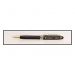 Black Euro Pen with Gold Trim 1