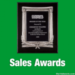 Sales Awards Plaques