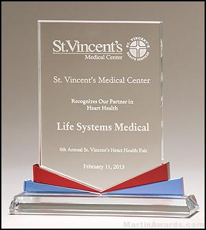 Spectrum Series glass award