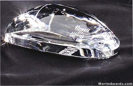 Crystal Glass Awards – 2 1/4″ x 4 1/2″ Genuine Prism Optical Crystal Mouse (not an actual computer m 1