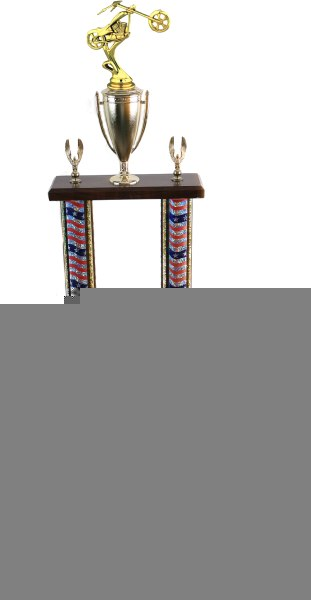 22″-24″ 2 Column Chopper Trophies (selection of color of extrusion) 1