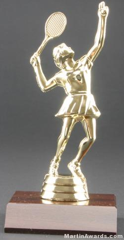 Female Tennis Trophy 1