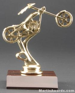 Chopper Motorcycle Trophy 1