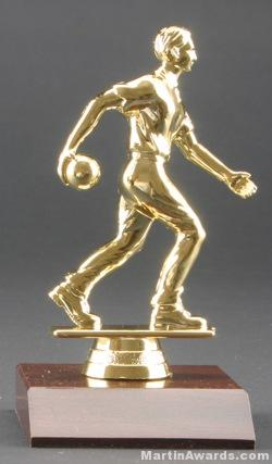 Male Bowler Trophy 1