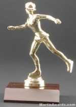Female Figure Skater Trophies
