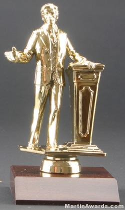Male Public Speaker Trophies