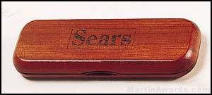 Hinged Rosewood Finish Box