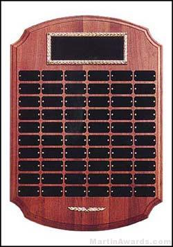 Plaque – Perpetual Award with Black Brass 60 Plates 1