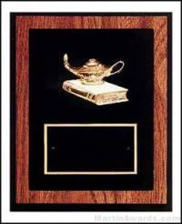 """Trent Series - 8"""" x 10"""" Walnut Plaques with Sport Cast Relief"""
