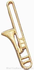 3/4″ Trombone Lapel Pin 1