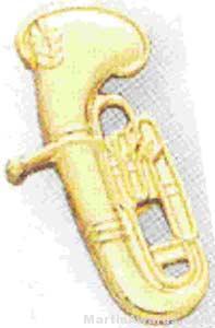3/4″ Baritone Lapel Pin 1