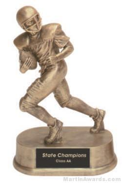 Football Gold Resin Trophy 1