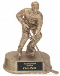 Hockey Gold Resin Trophy