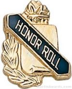 "3/8"" Honor Roll School Award Pins"