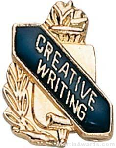 3/8″ Creative Writing School Award Pins 1