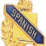 3/8″ Spanish Academic Award Pins 1