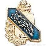 3/8″ Physical Education School Award Pins 1