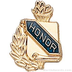3/8″ Honor School Award Pins 1