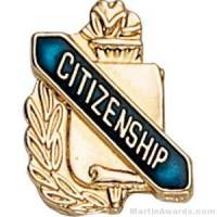 "3/8"" Citizenship School Award Pins"