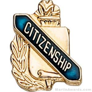 3/8″ Citizenship School Award Pins 1