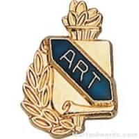 "3/8"" Art School Award Lapel Pins"