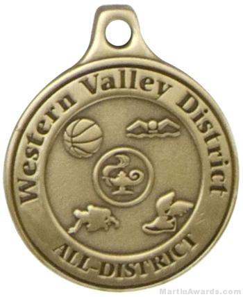 2″ Custom Medals 1