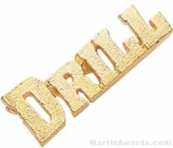 1 1/8″ Drill Chenille Letter Insert Pins 1