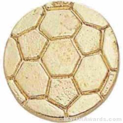 3/8″ Small Soccer Ball Chenille Pin 1