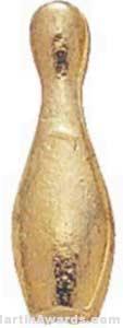 3/8″ Small Bowling Chenille Pin 1