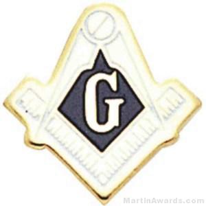 Masonic Enameled Lapel Pins