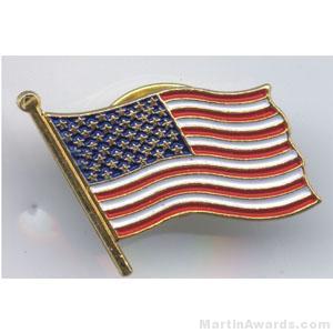 American Flag Pins 1