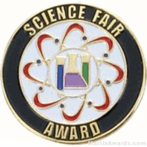 Science Fair Award Lapel Pin 1