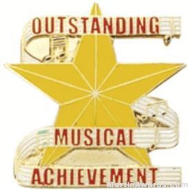 Outstanding Musical Achievement Lapel Pin 1