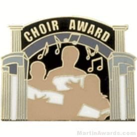 Choir Award Lapel Pin 1