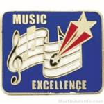 Music Excellence Award Lapel Pin 1