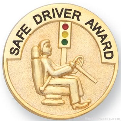 1″ Safe Driver Award Lapel Pin 1