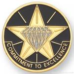 1″ Commitment To Excellence Lapel Pin 1