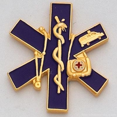 """1"""" Paramedic Lapel Pin"""
