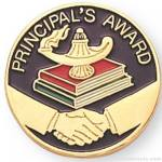 "7/8"" Principal's Award Lapel Pin"