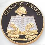 7/8″ Reading Award Lapel Pin 1