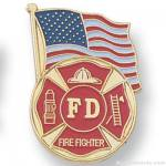 1-1/8″ Firefighter Lapel Pin 1