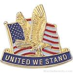 United We Stand Lapel Pin 1