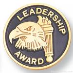 "3/4"" Leadership Award Lapel Pin"